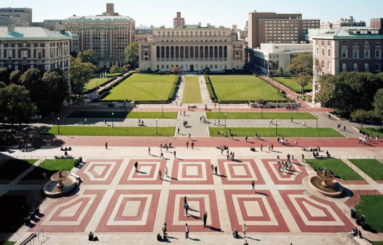 Columbia university em Uptown Manhattan
