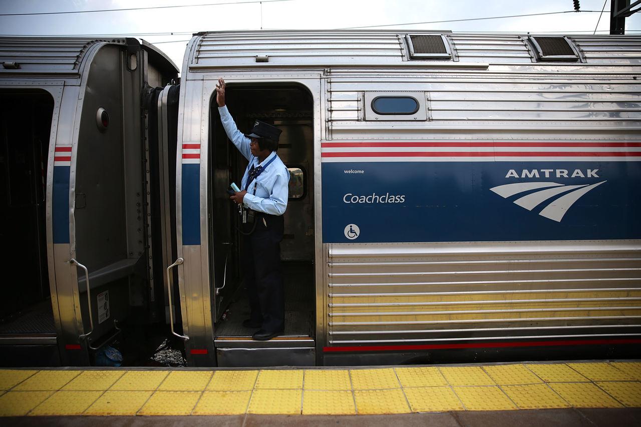 Como é viajar de trem nos Estados Unidos