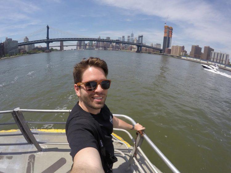 Thiago Khoury em Nova York