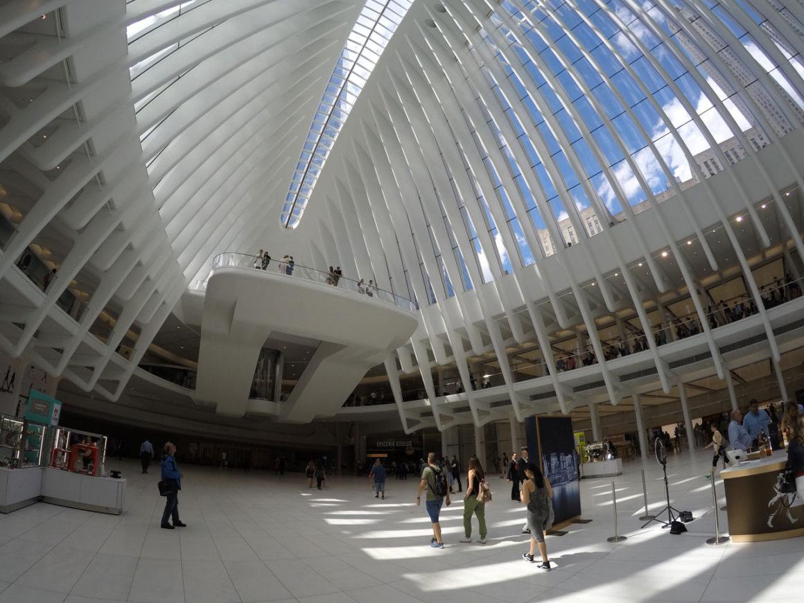 Westfield World Trade Center em Nova York (que shopping lindo!)