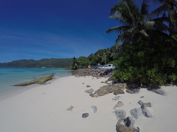 Anse Royal em Mahè, Seychelles