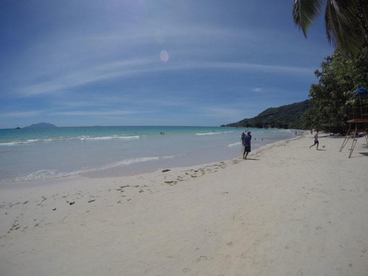 Beau Vallon em Mahè, Seychelles