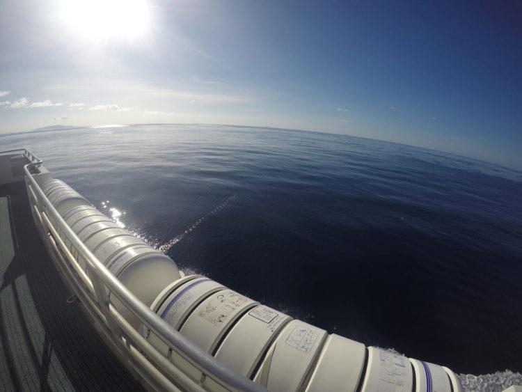 Catamarã de Praslin para La Digue