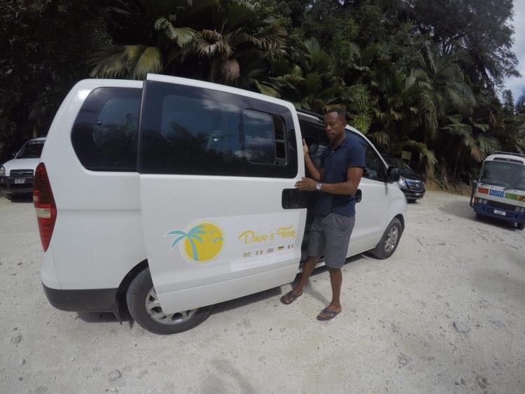 Tour em Praslin em Seychelles