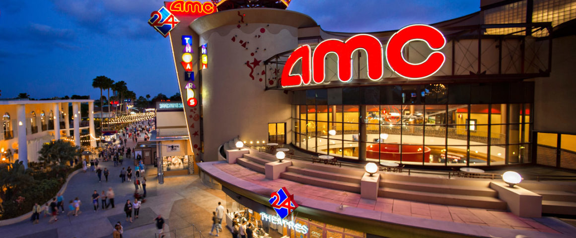 AMC Disney Springs 24 Dine-in Theatre: jantando no cinema
