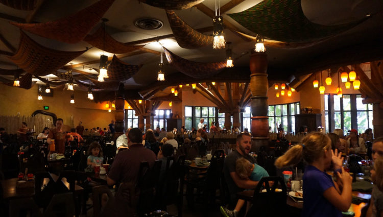 Disney's Animal Kingdom Lodge - Boma