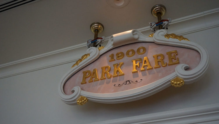 1900 Park Fare: Disney's Grand Floridian