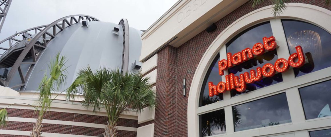 Disney Springs - Planet Hollywood Observatory