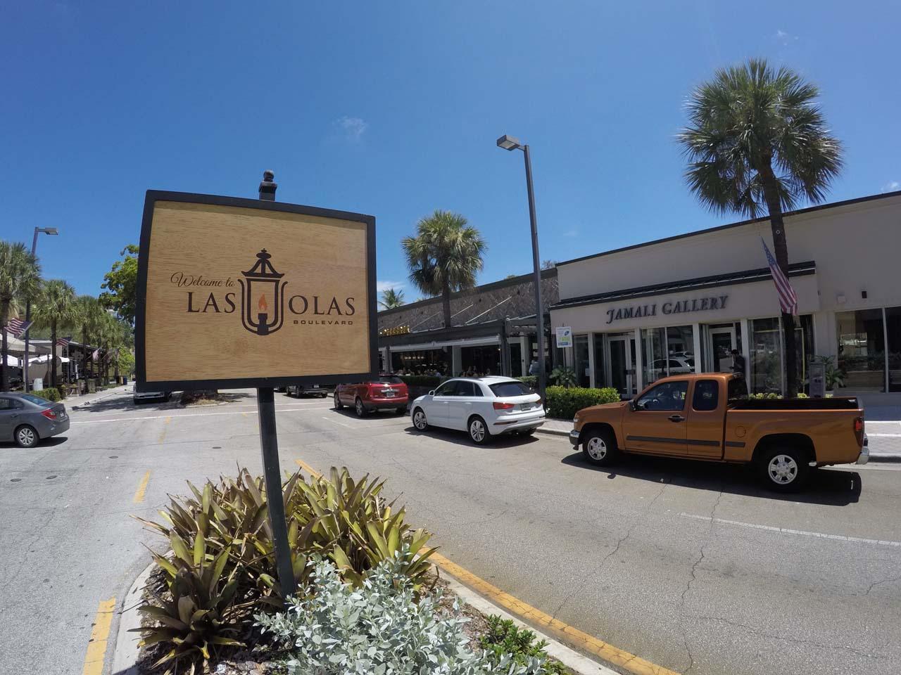 Las Olas em Fort Lauderdale