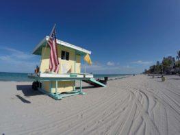 Hollywood Beach: a praia mais jovem da Flórida