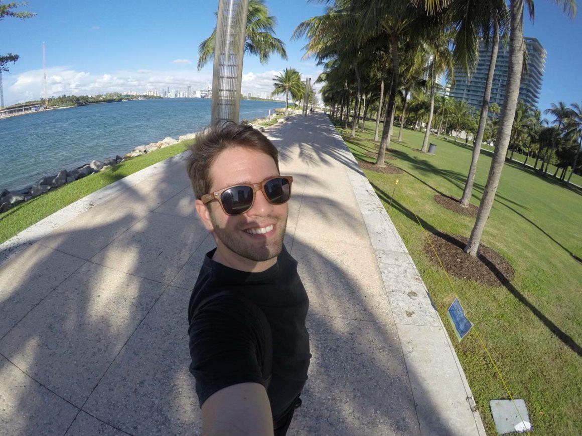 South Pointe Park em Miami Beach