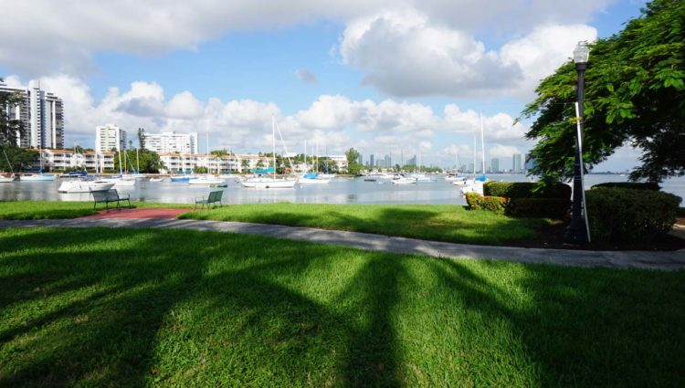 Sunset Harbour em Miami Beach