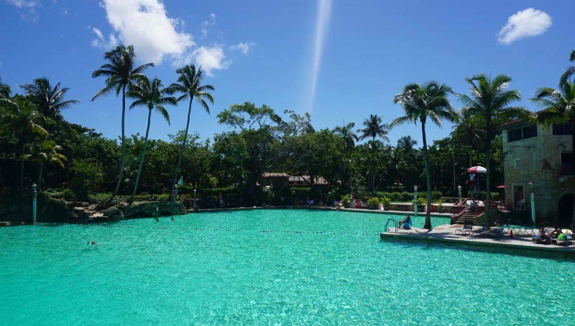 Venetian Pool em Coral Gables, Miami