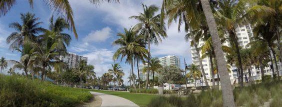 Um pulinho em Pompano Beach, Flórida