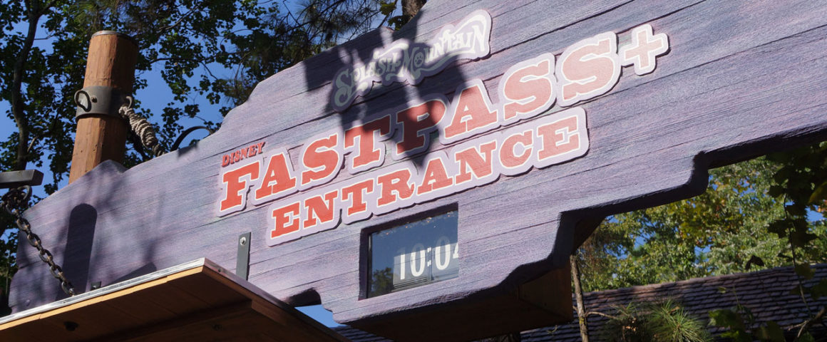 FastPass+ Splash Mountain