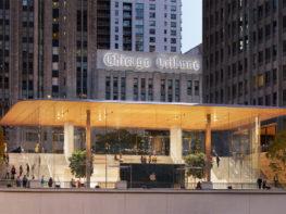 Conheça a nova e mais incrível loja da Apple em Chicago