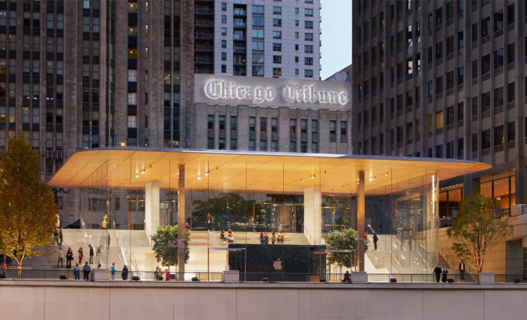 Apple Store Chicago Michigan Avenue