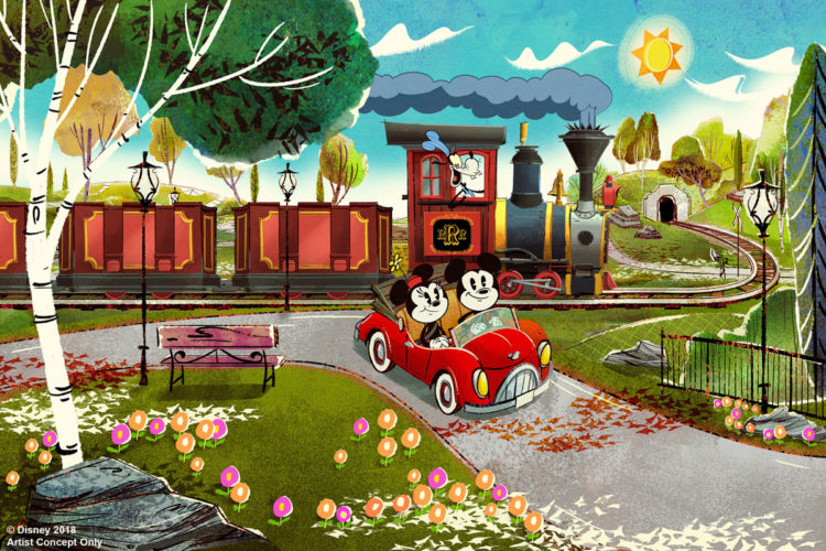 Mickey and Minnie's Railway