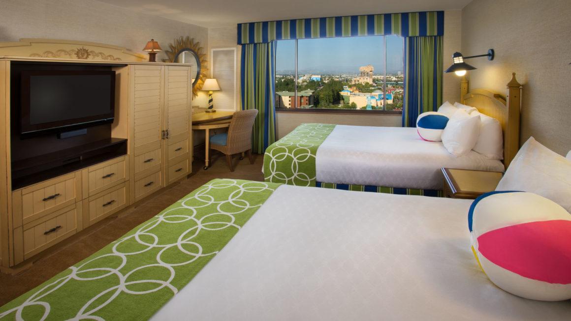 Qual o hotel mais barato da Disneyland, Califórnia?