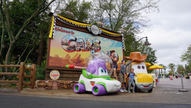 Cars Land no California Adventure, Disneyland