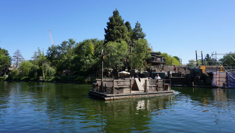 Disneyland Park Rivers of America