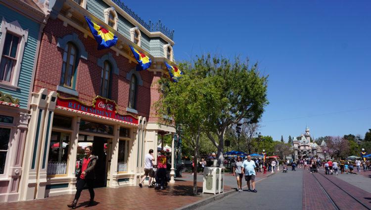Main Street Disneyland Park