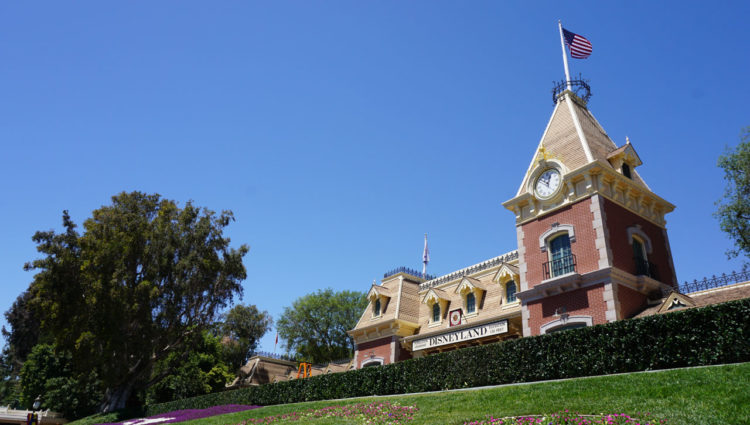 Disneyland Park Main Street Railroad Station