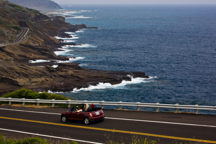 Alugar carro e dirigir no Hawaii