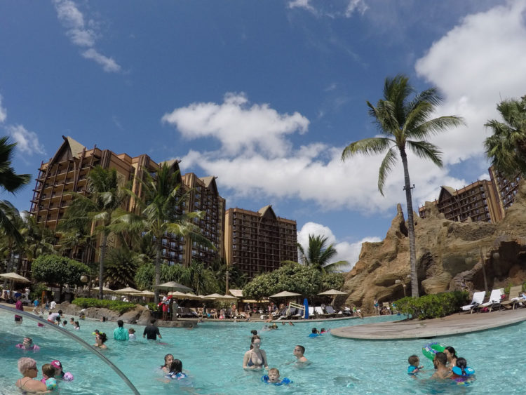 Piscinas da Disney do Hawaii