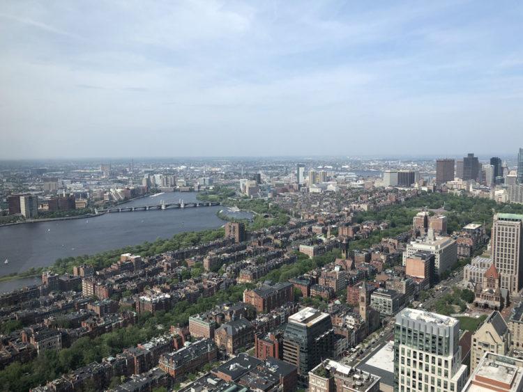 Primeiras impressões de Boston
