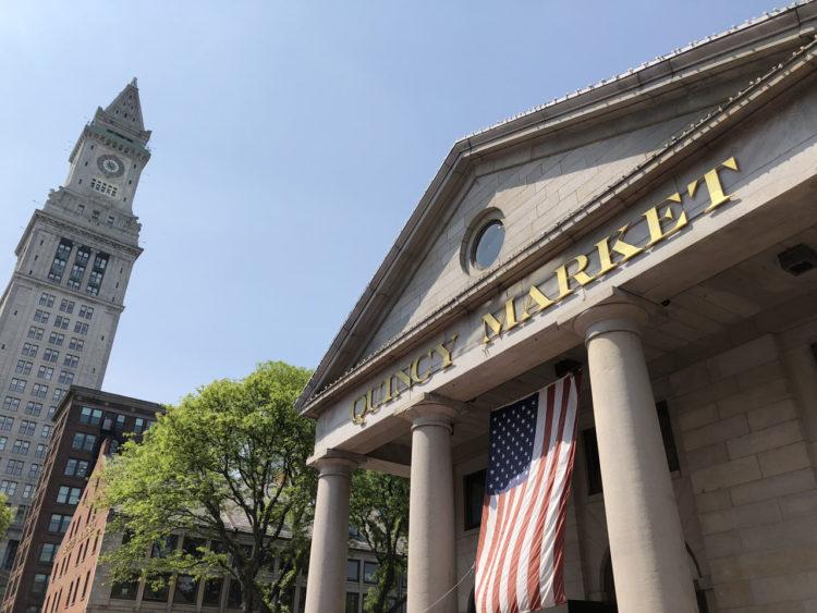 Quincy Market em Boston