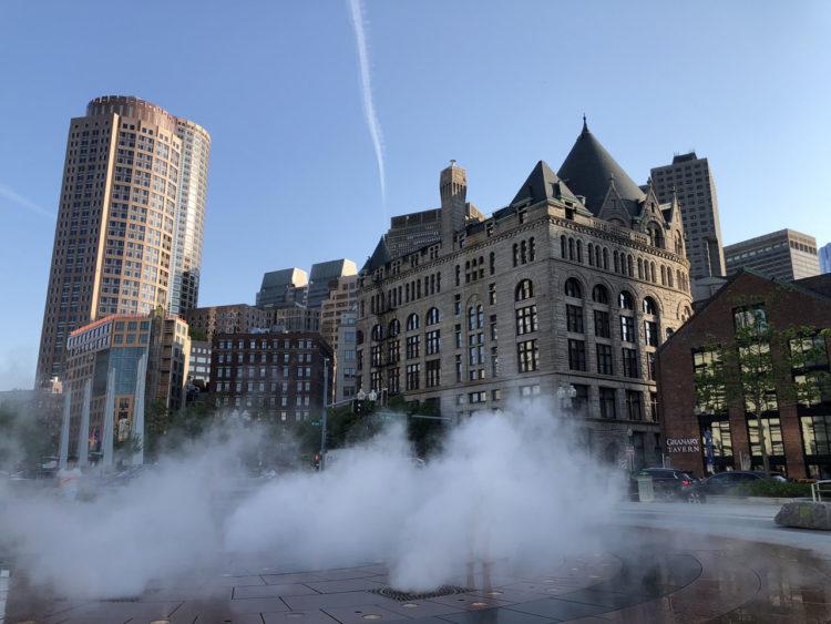 Primeiras impressões de Boston: Downtown