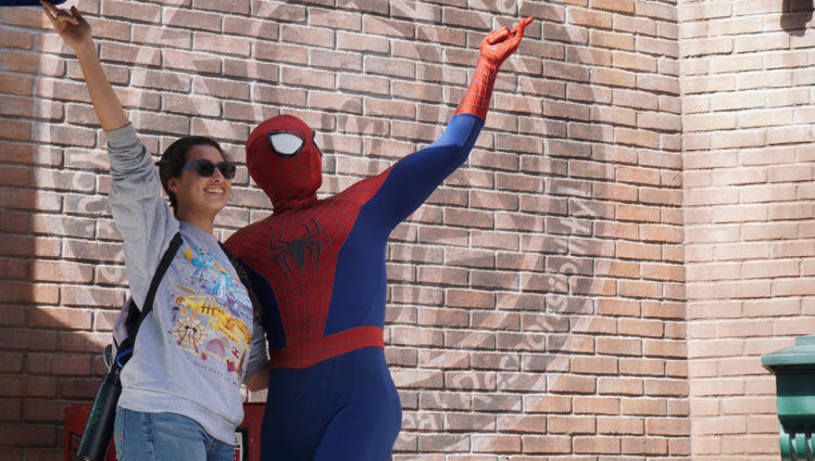 California Adventure Spider-man