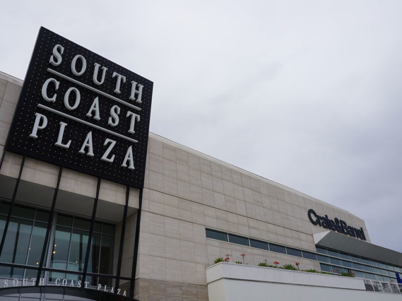 South Coast Plaza: o maior shopping da Califórnia
