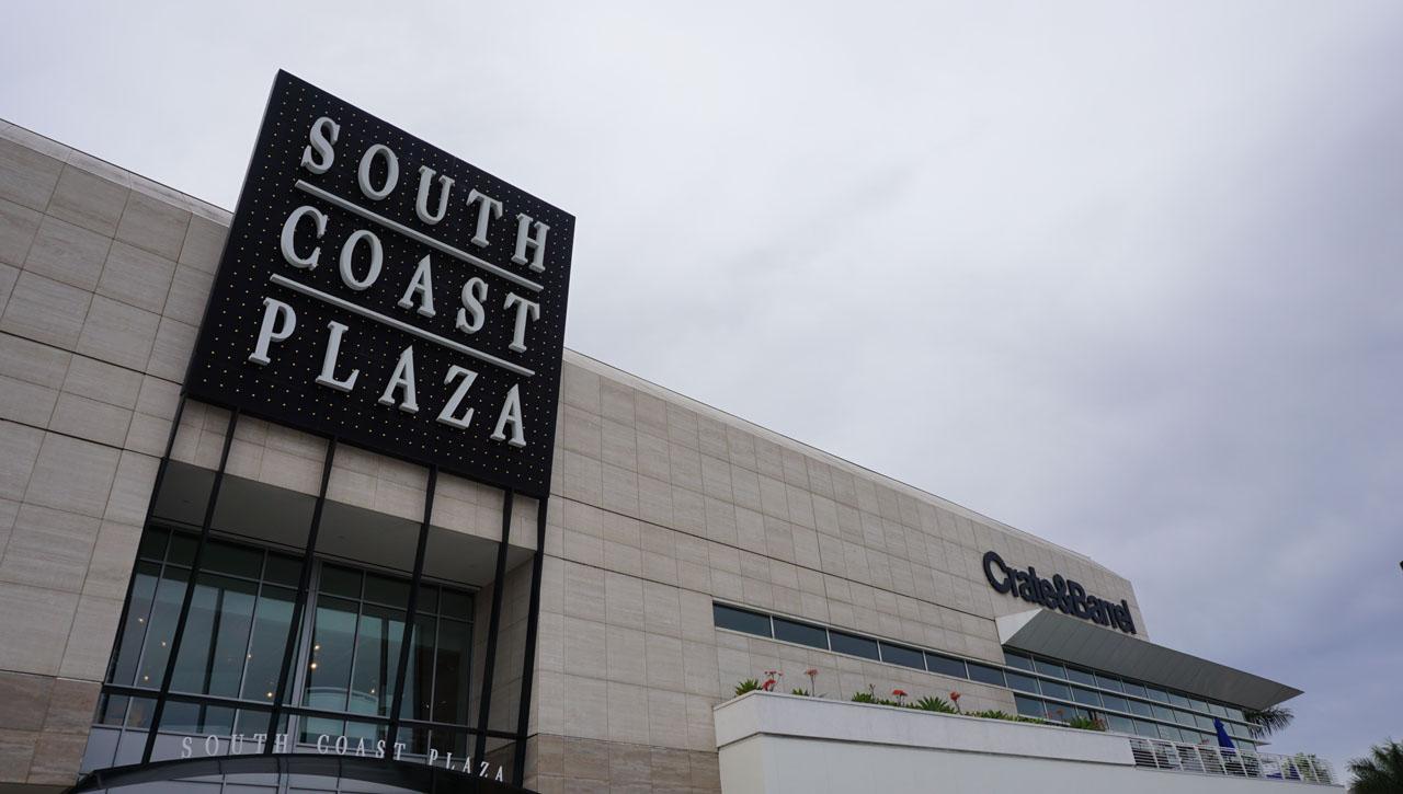 South Coast Plaza: o maior shopping da Califórnia, perto da Disneyland