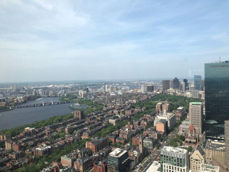 Skywalk Observatory: o observatório de Boston