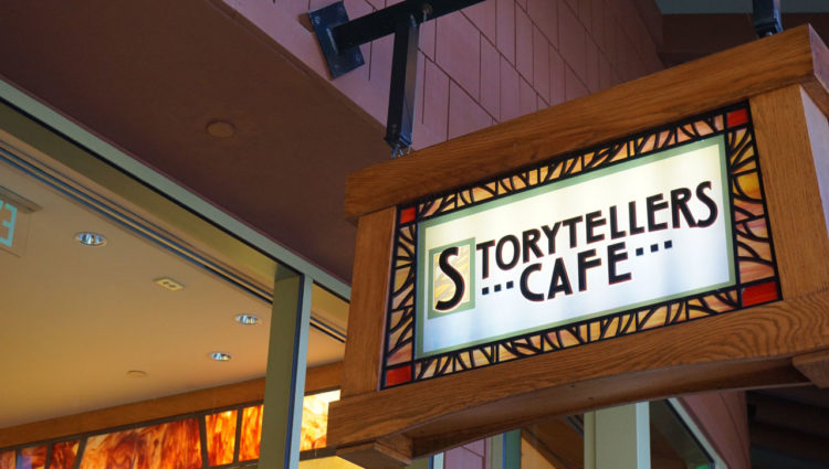 Storytellers Cafe: café da manhã do Grand Californian Hotel