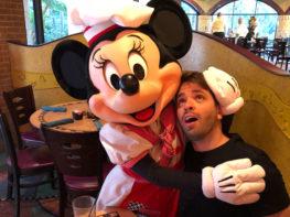 Café da manhã do Disneyland Hotel, Califórnia