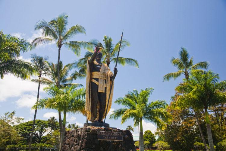 Curiosidades sobre o Hawaii: Rei Kamehameha do Hawaii