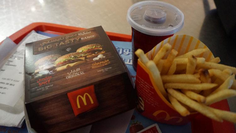 McDonalds aeroporto de Dubai