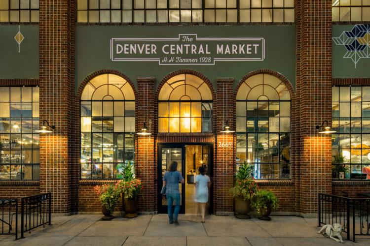 Denver Central Market em RiNo