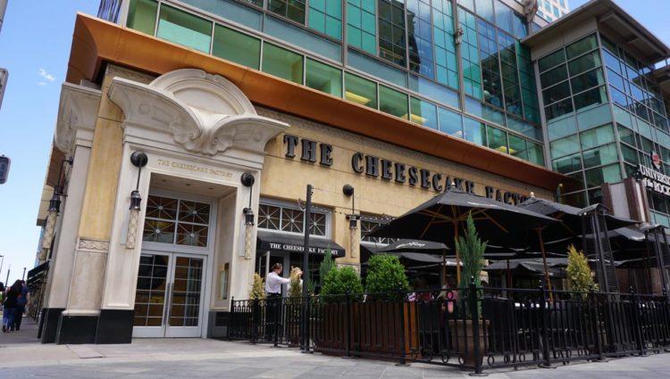 Onde comer em Denver: Cheesecake Factory