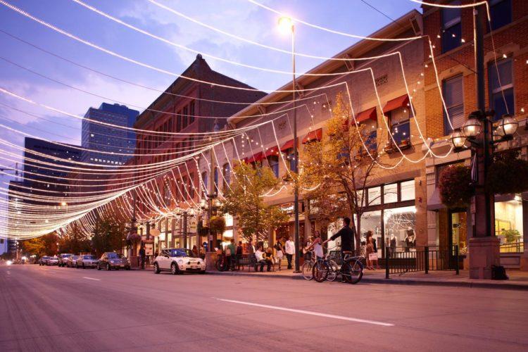 Compras em Denver: Larimer Square
