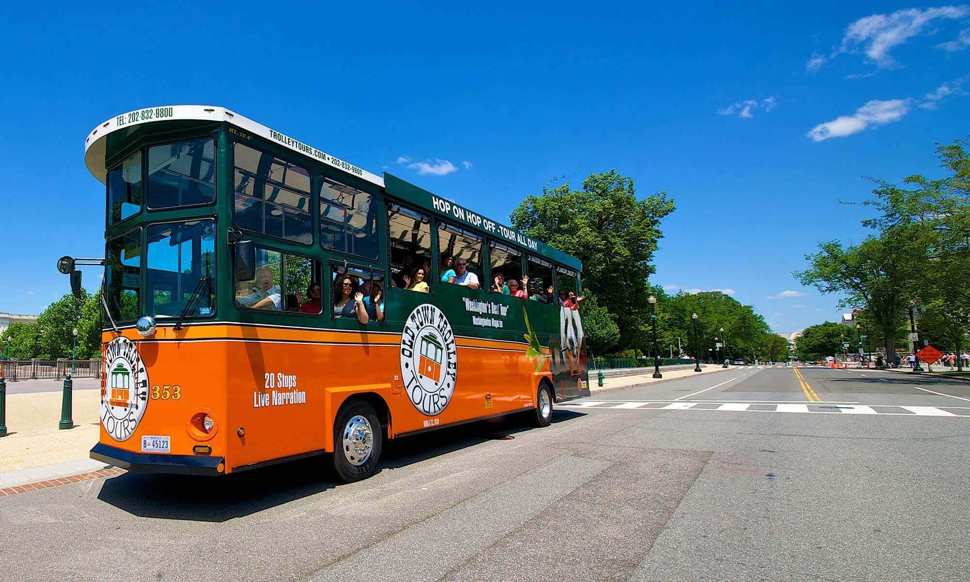 Boston Trolley: hop on hop off em Boston