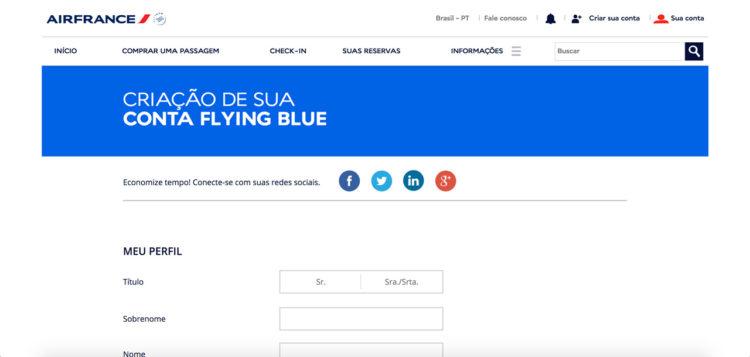 Programa de fidelidade da Air France KLM