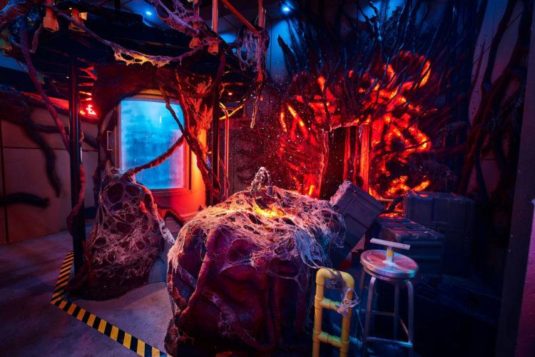 Casa de Stranger Things no Halloween da Universal