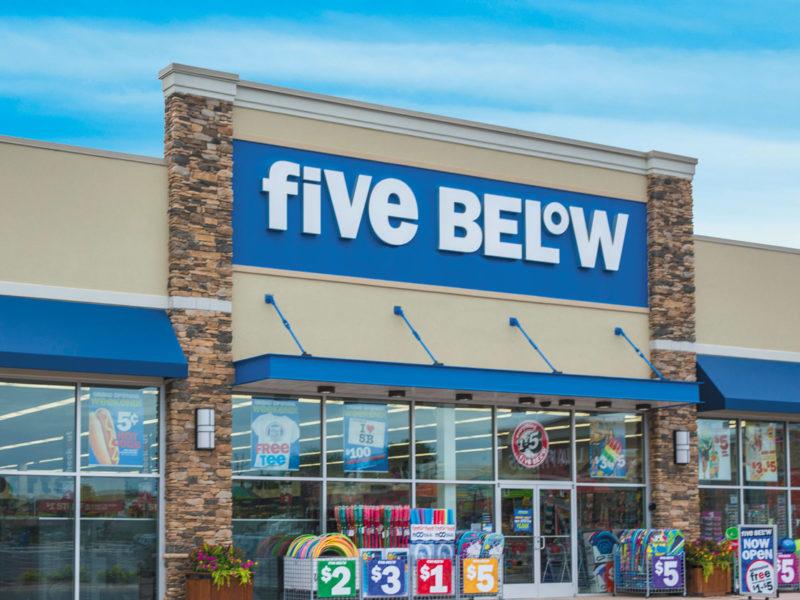 Five Below, tudo por menos de 5 dólares
