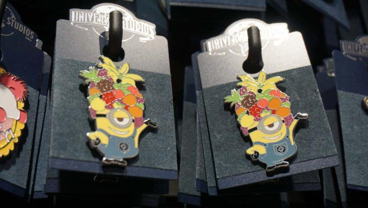Produtos dos Minions nos parques da Universal