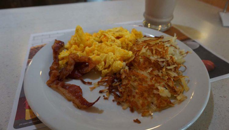 Denny's: café da manhã nos Estados Unidos