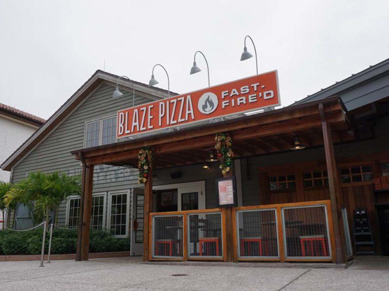 Pizzaria Blaze em Disney Springs